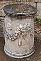 Remains of an altar at the Ancient Agora of Athens on March 23, 2021.jpg
