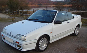 Renault 19 - Phase 1 convertible