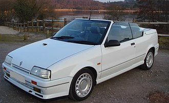 Renault 19 - Phase 1 (convertible)