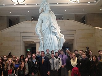 Walsh University - Students who participate in the Renacci Scholars program have the opportunity to visit Washington D.C.