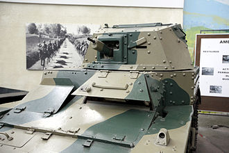 AMR 33 - Details of the turret