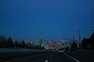 Interstate 80 in Nevada - Image: Reno I80