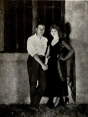 Where the Pavement Ends - Rex Ingram and Alice Terry before leaving for the filming of Where the Pavement Ends in Cuba