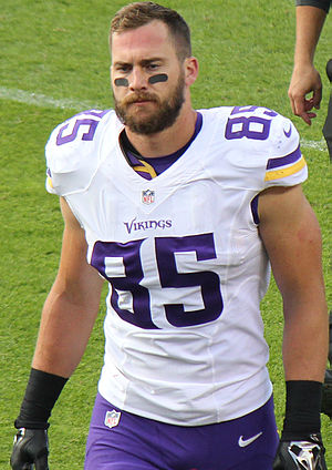 Rhett Ellison - Ellison with the Minnesota Vikings