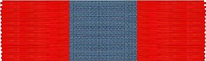 Orders, decorations, and medals of the United Kingdom - Image: Ribbon Imperial Service Order 100x 30