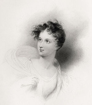 Childe Harold's Pilgrimage - Charlotte Harley (1801–1880) as Ianthe, to whom Byron dedicated Childe Harold.