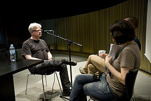 Rick Prelinger interviewed at Ràdio Web MACBA.jpg