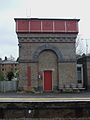 Rickmansworth station former water tower.JPG