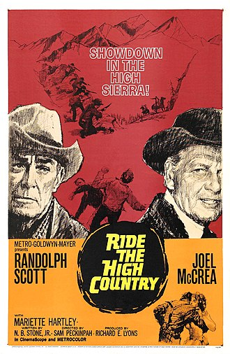 Ride the High Country - Image: Ride the High Country Poster