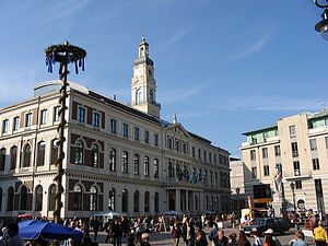 Riga City Council - Riga Town Hall
