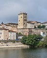Right bank of Lot River in Cahors 05.jpg