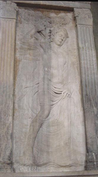 File:Rimini - Tempio malatestiano - Ganimede come Acquario - Foto Giovanni Dall'Orto, aprile 2004.jpg