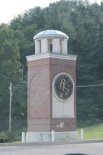 University of Rio Grande - University of Rio Grande campus entrance.
