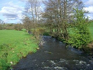 River Conder river in the United Kingdom