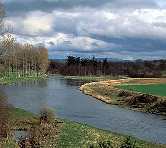 River Tweed - Image: River Tweed from Mertoun House