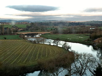 Herefordshire - The River Wye near Ross-on-Wye.
