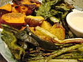 Roasted Vegetables with Agave Mustard Sauce (3992215120).jpg