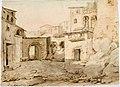 Robert Wilhelm Ekman - Italialaisen kaupungin katu - A I 457-206 - Finnish National Gallery.jpg