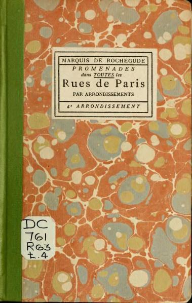 File:Rochegude - Promenades dans toutes les rues de Paris, 4.djvu