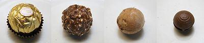 Un Ferrero Rocher, strato per strato