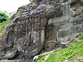Rock-cut sculptures of Unakoti.jpg