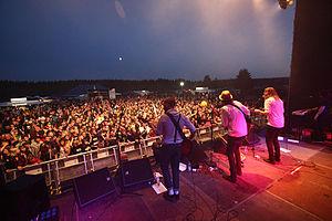 """The swedisch Indie-Rock-Band """"Friska Vilj..."""