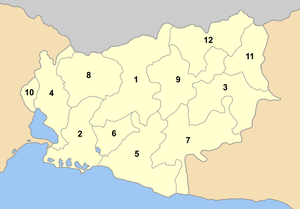 Rodopi municipalities numbered.png