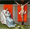 Rogier van der Weyden, Netherlandish (active Tournai and Brussels) - The Crucifixion, with the Virgin and Saint John the Evangelist Mourning - Google Art Project.jpg