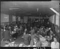 Rohwer Relocation Center, McGehee, Arkansas. The Thanksgiving day dinner at the Staff mess-hall. - NARA - 538984.tif