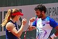 Roland Garros 20140531 Alize Cornet & Jonathan Eysseric 1.jpg
