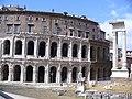 Roma - Teatro di Marcellus - Tempio di Apollo Sosiano - view - panoramio.jpg