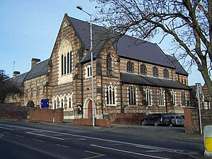 Our Lady of the Angels and St Peter in Chains Church, Stoke-on-Trent - Image: Roman Catholic Church, Stoke geograph.org.uk 1133389