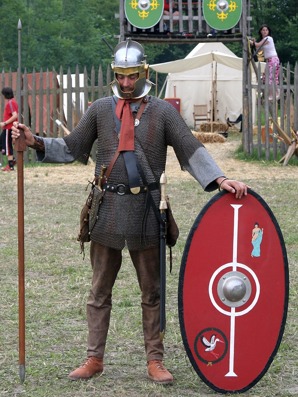 Roman soldier 175 aC in northern province