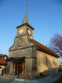 Romanel-sur-Lausanne Temple.JPG