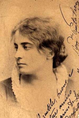 Romilda Pantaleoni - Romilda Pantaleoni circa 1875