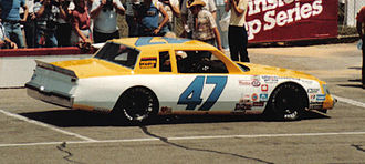 Ron Bouchard - 1983 racecar