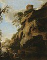 Rosa - A Rocky Coast, with Soldiers Studying a Plan, JBS 222.jpg