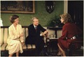 Rosalynn Carter and Jimmy Carter during an interview with Barbara Walters. - NARA - 182764.tif