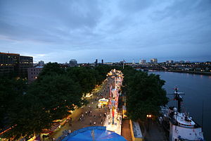 Portland Rose Festival - Waterfront Village in  Gov. Tom McCall Waterfront Park