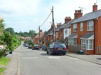Civil parishes in Berkshire - Image: Rose Hill, Binfield geograph.org.uk 849009