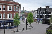 Rotherham town centre, May 2010
