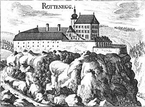 Sankt Gotthard im Mühlkreis - Image: Rottenegg Vischer 1674