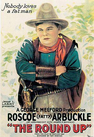 The Round-Up (1920 film) - Movie poster