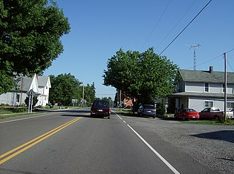 Roundhead, Ohio - Along State Routes 117 and 235 in the southern part of Roundhead.