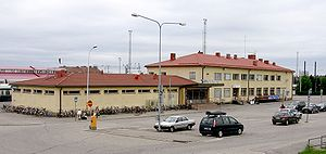 Rovaniemi railway station - Rovaniemi railway station