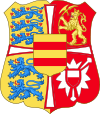 Royal Arms of Norway & Denmark (1523-1535).svg