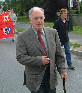 Sinn Féin - Ruairí Ó Brádaigh was the president of Provisional Sinn Féin from 1970 until 1983.