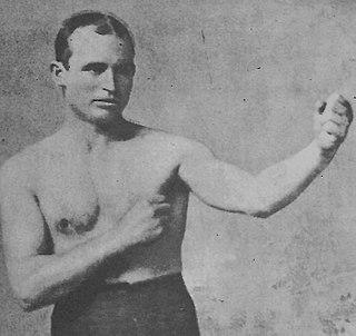 Rube Ferns American boxer