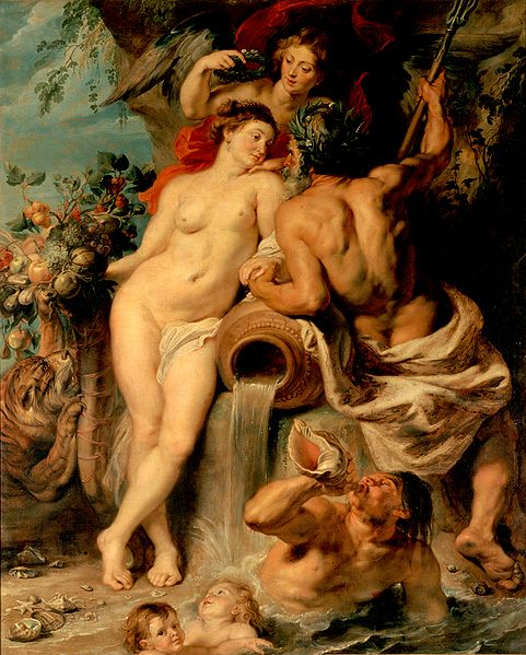 RUBENS Peter Paul Union of Earth and Water c.1618