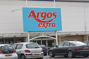 English: Argos Extra store, Rushmere Shopping ...